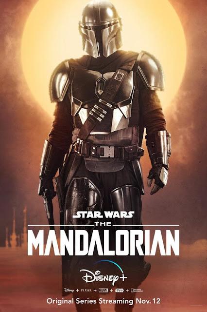 Póster de 'The Mandalorian'. Pedro Pascal