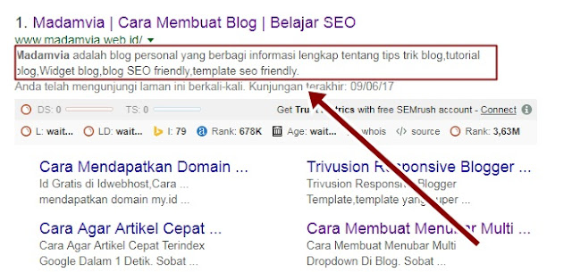 Kriteria Template SEO Friendly Yang Bikin Blog Naik Ranking
