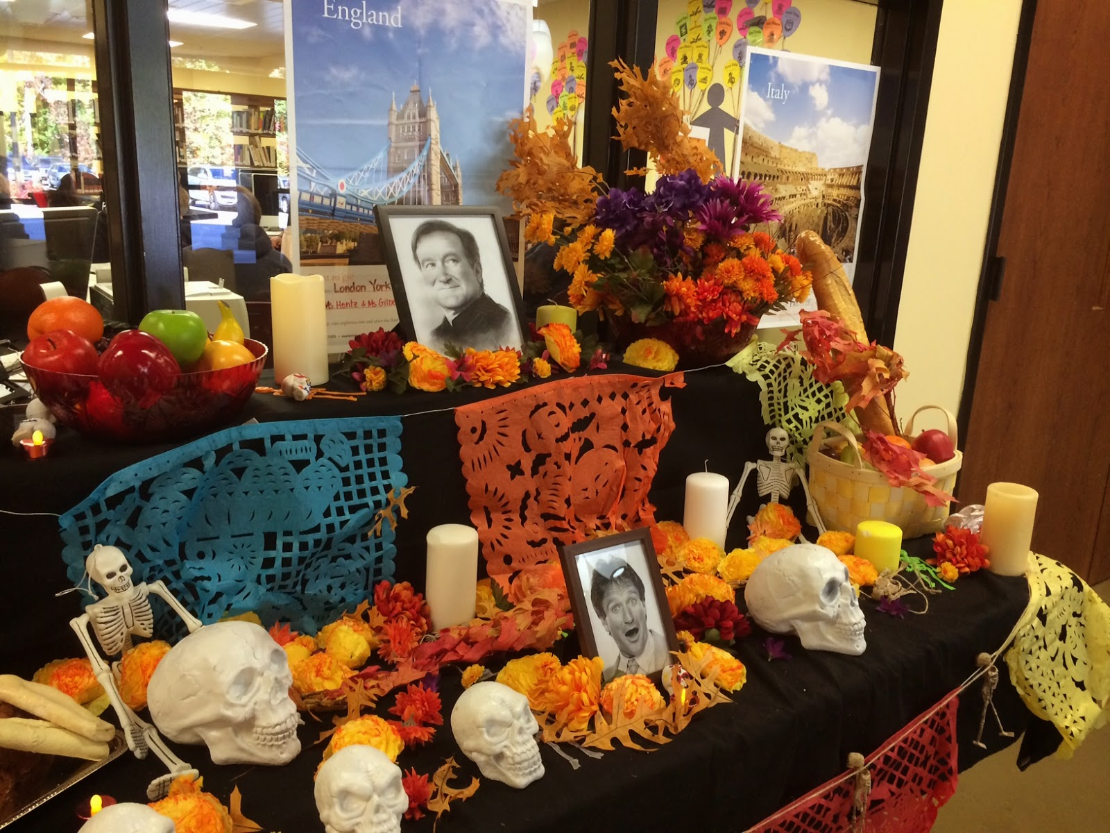 ofrenda competition for día de los muertos day of the dead