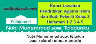 Kunci Jawaban Pendidikan Agama Islam dan Budi Pekerti Kelas 2 Halaman 1 2 3 4 5