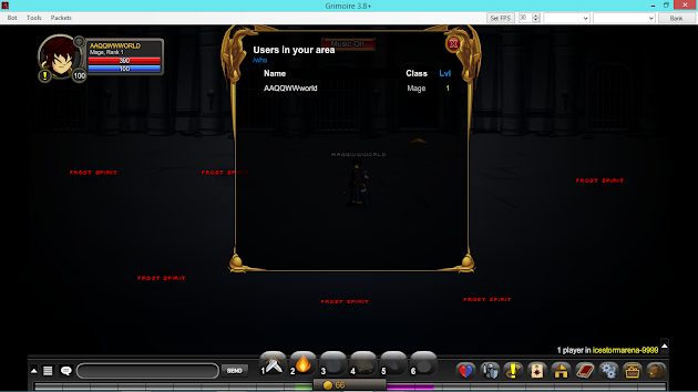 Bypassing high level room AQW Glitch final
