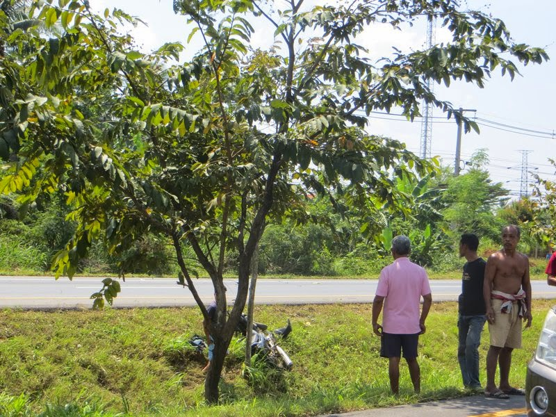 Авария на дороге Таиланда