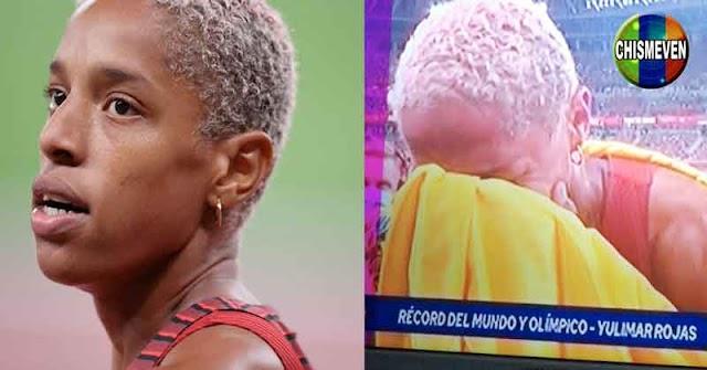 Yulimar Rojas ganó una medalla de oro y el nuevo récord mundial y olímpico