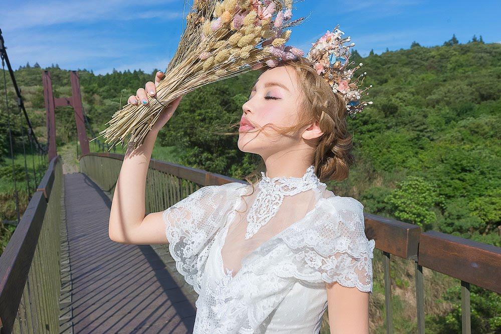 自助婚紗 | 婚紗 | 自主婚紗 | 台北婚紗 | 冷水坑吊橋 | 生態池 |