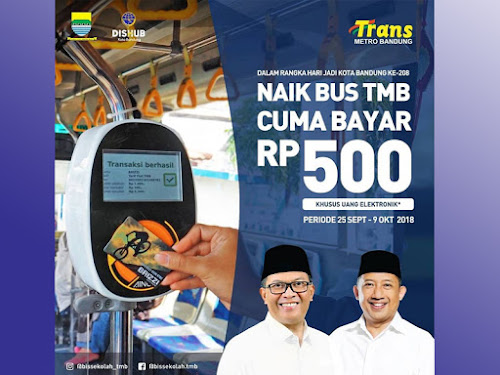 Promo Trans Metro Bandung 2018