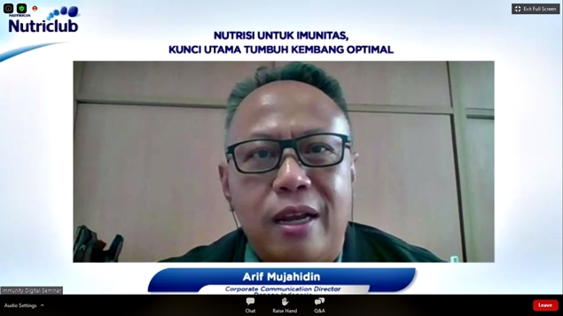 Arif Mujahidin, Corporate Communication Director Danone Indonesia