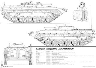 BMP-2/1M Berezhok الجزائرية  Bmp-1-early-version