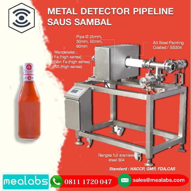 metal detector saus