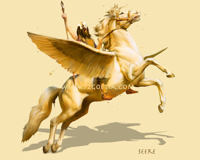 Seere the Prince of Hell in the Ars Goetia of the Lesser Key of Solomon