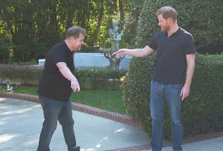 James Corden's sit-down with Prince Harry aired on CBS