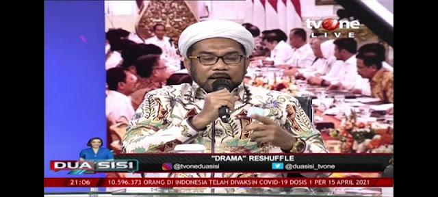 Ngabalin Ke Mardani Ali Sera: Statement Reshuffle Kabinet Politik Dagang Sapi Bodohi Publik!