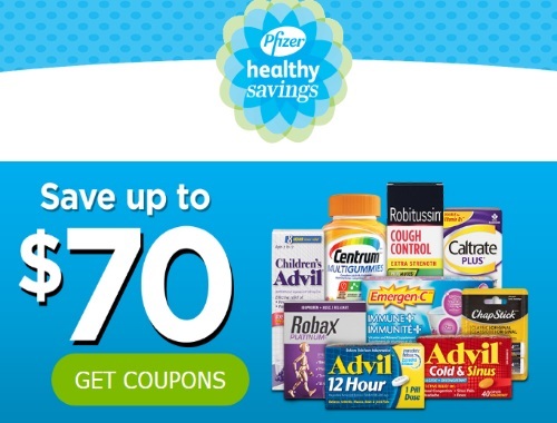 Pfizer Healthy Savings Coupon Portal