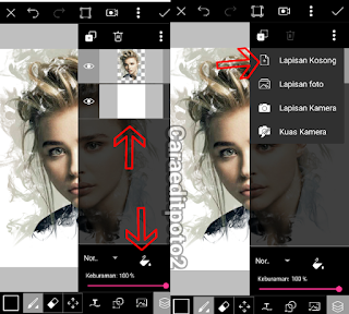 Tutorial picsart terbaru smoke effect di android