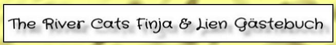 Gästebuch Banner - verlinkt mit https://the-river-cats.blogspot.de/