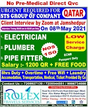 QATAR JOBS : REQUIRED FOR STS GROUP OF COPANY IN QATAR .g