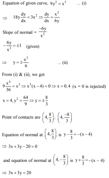 ncert class 12th math Answer 34