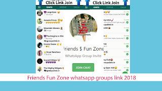 Friends Fun Zone whatsapp groups link