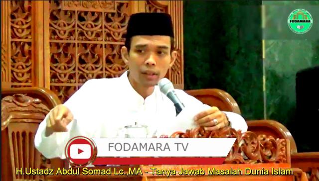 Nasihat Ustad Abdul Somad untuk Penguasa: Memangnya kita mati bawa apa? Bawa Islam. Maka perjuangkan Islam