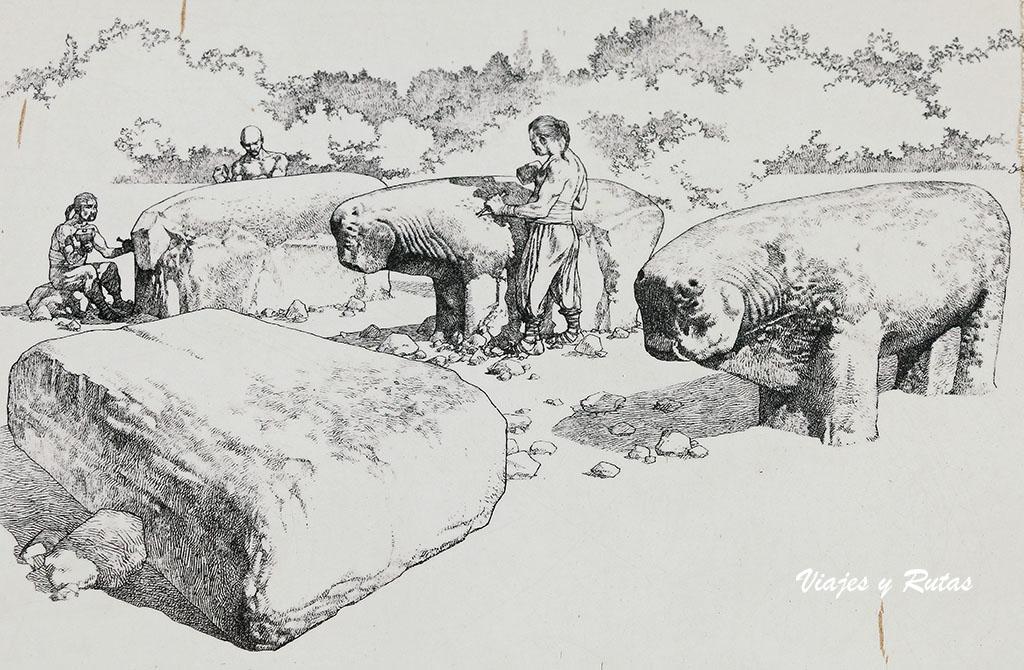 Los vettones y los Toros de Guisando, El Tiemblo