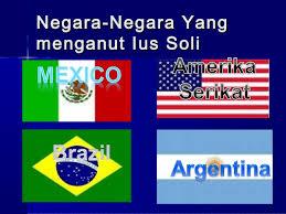 Materi Asas-Asas Dalam  Penentuan Kewarganegaraan
