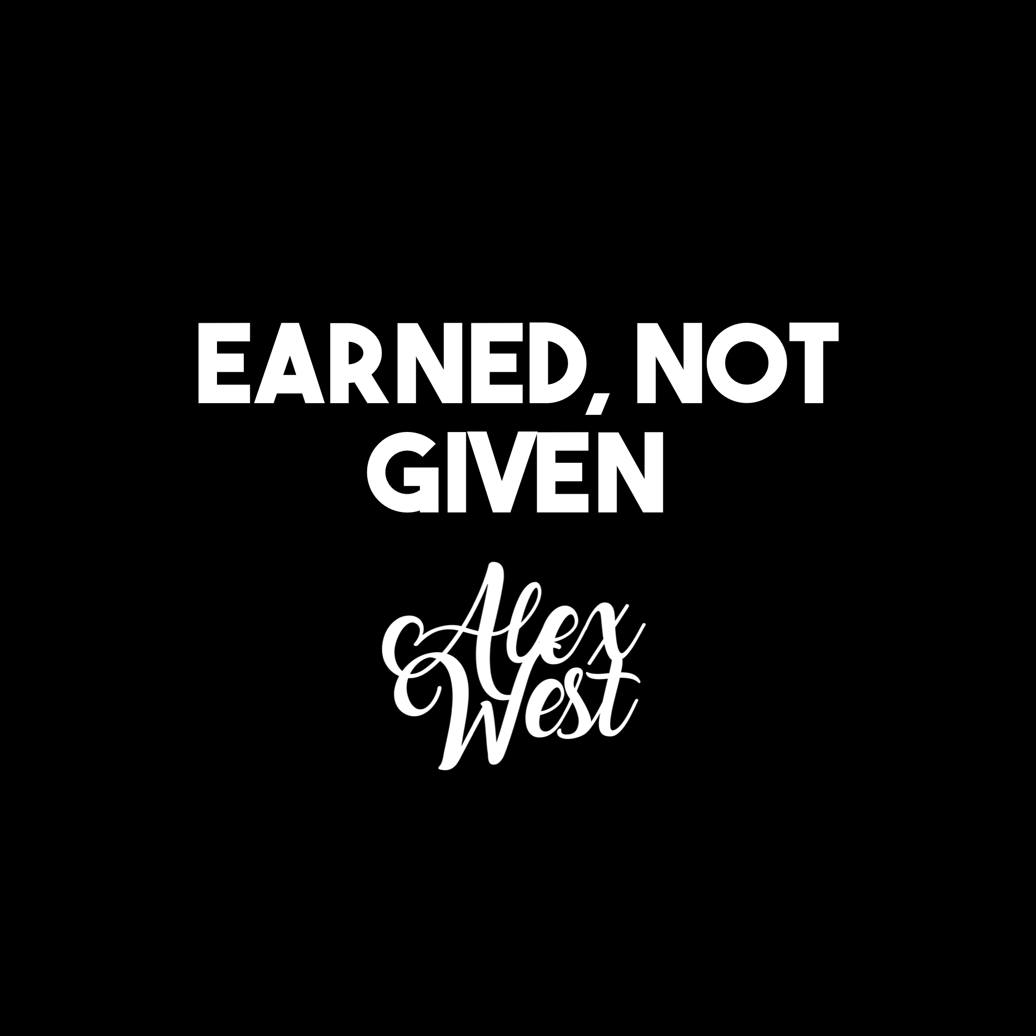 EARNED NOT GIVEN motivation quotes success inspiration gym fitness nike clothes fashion luxury success