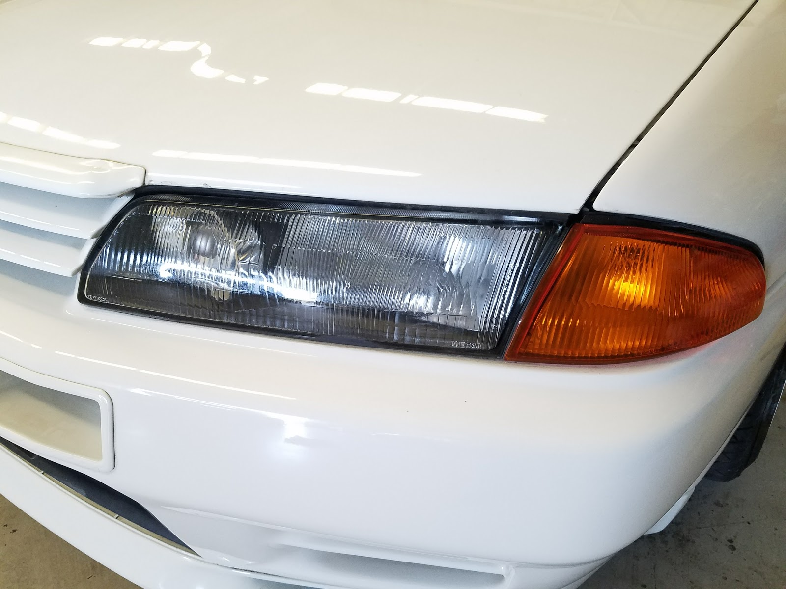 Nissan Skyline GT R R32 Headlight Differences and Other