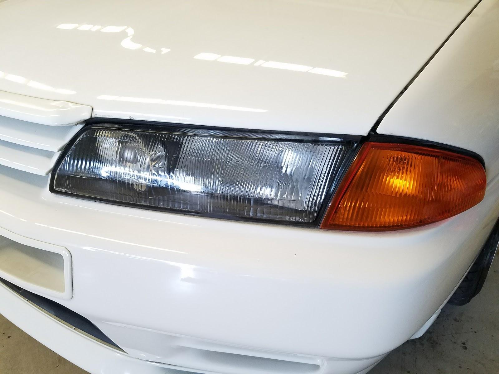Oem 0912 Nissan Gtr Headlight High Beam Bulb Wiring Harness Wire