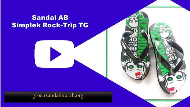grosirsandalmurah.org - Sandal Anak TG - Sandal RockTrip Simplek TG