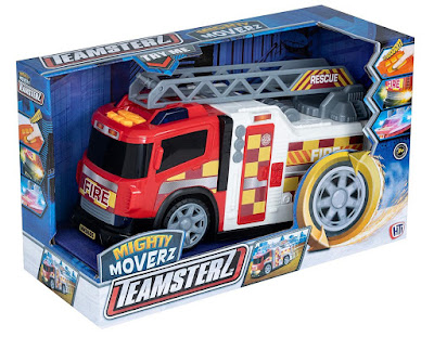 Teamsterz Mighty Moverz Fire Engine