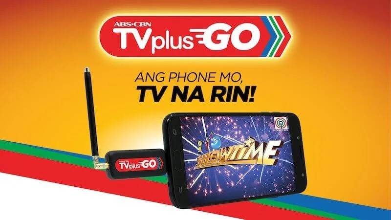 ABS-CBN's Portable TVPlus Go Launches Nationwide for Only Php799