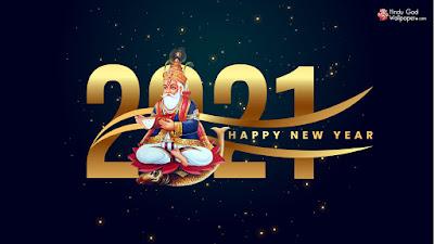 new year greetings wallpaper 2021