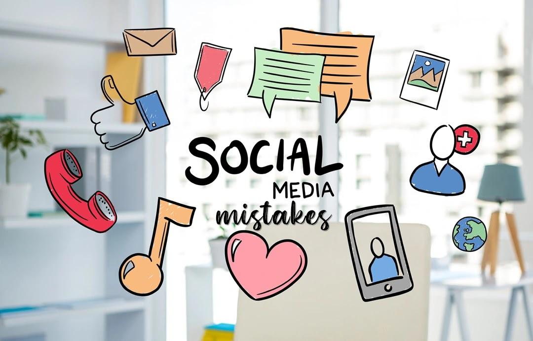 5 Λάθη που πρέπει να αποφύγεις όταν δημοσιεύσεις στα social media