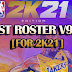 DEST ROSTER V9.28 By Destteam [FOR 2K21]