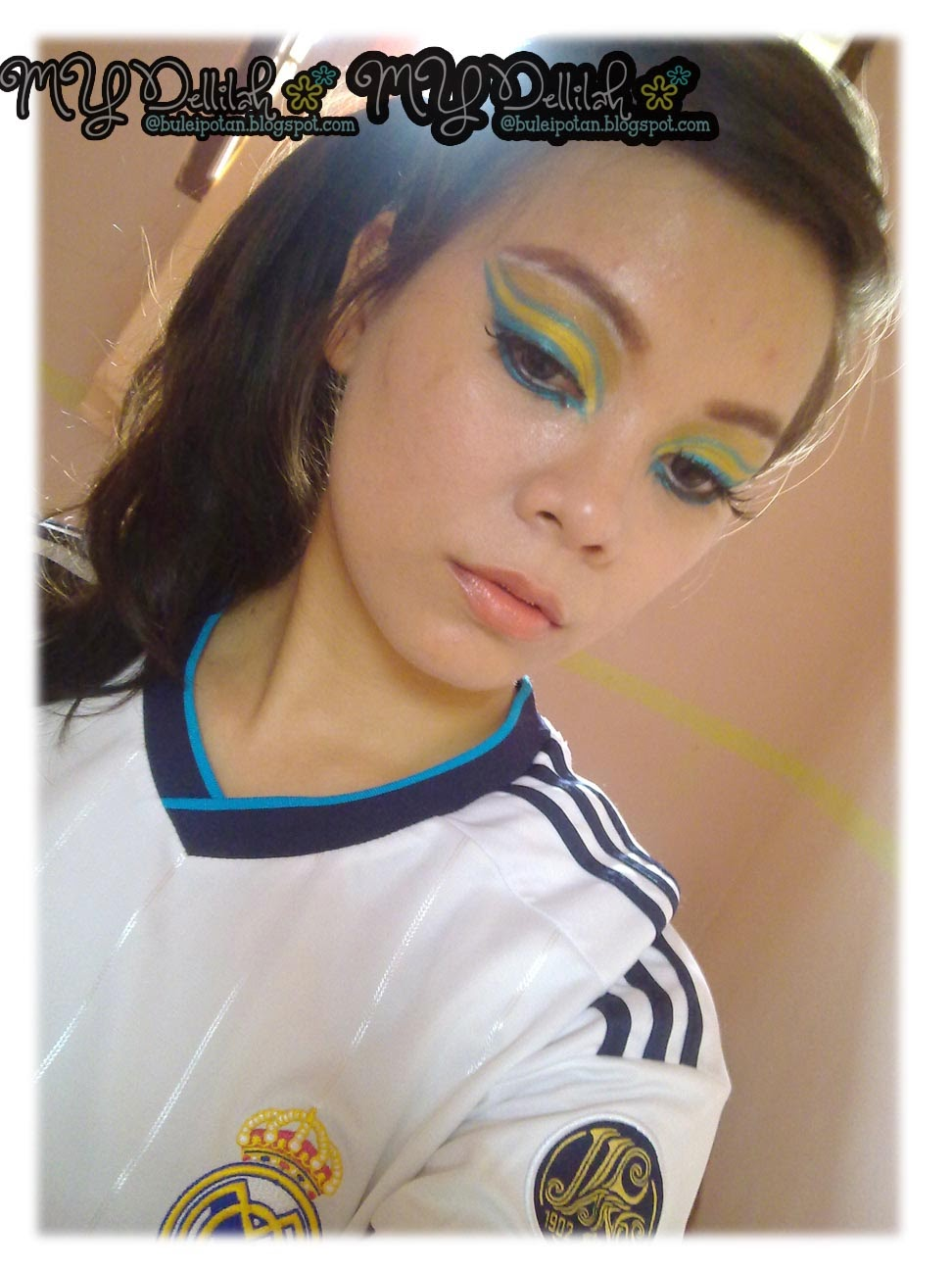 WORLD CUP Inspired Makeup
