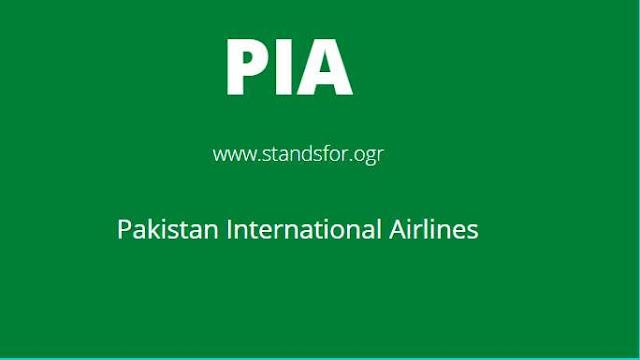 PIA-Pakistan international Airline
