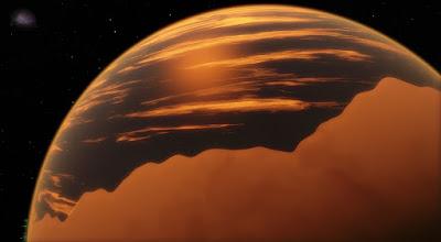 WASP-76b: el exoplaneta en el que llueve hierro