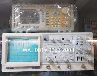 Darmatek Jual Dekko OS-73180 Analog Oscilloscope Bandwidth 100 MHz Terlengkap