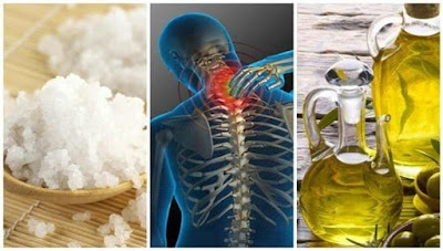Tratamento com sal e azeite contra as dores articulares