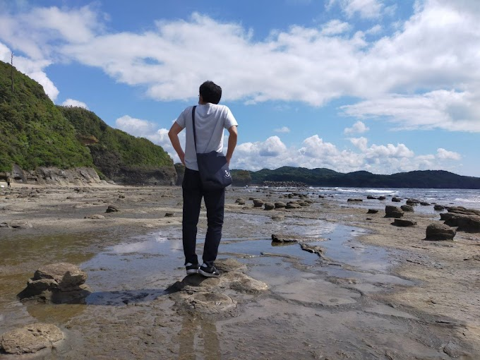 Reincarnation in another world that can be reached by car from Hiroshima. Lake Uyuni in Shimane, Iwami Tatamigaura is really amazing 😧! !! Part 1