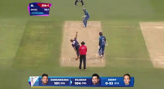 Kumar Sangakkara 124 - Tillakaratne Dilshan 104 - Sri Lanka vs Scotland Highlights - 35th Match | ICC Cricket World Cup 2015