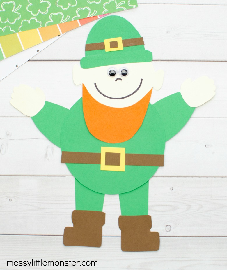 printable leprechaun craft for kids