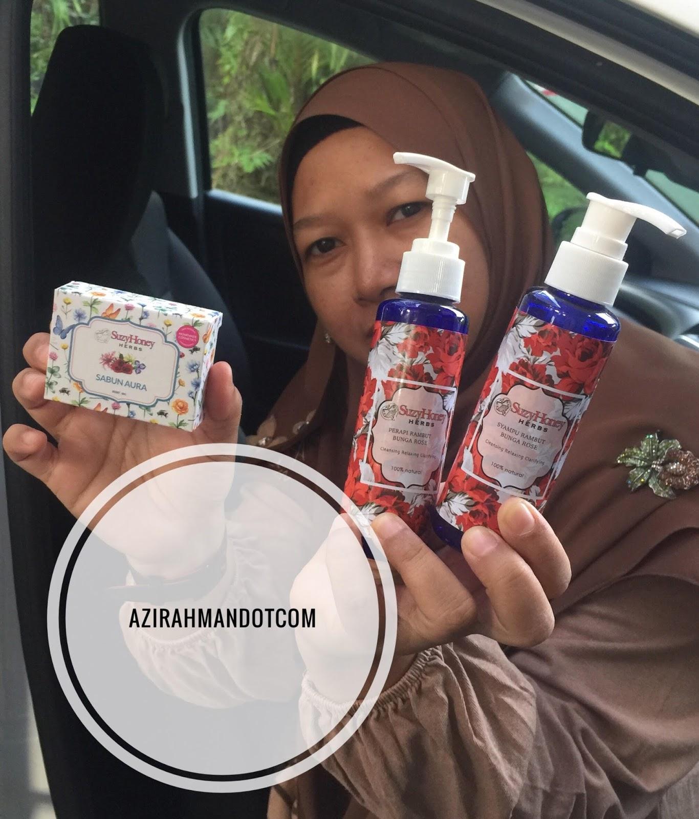 produk kecantikan, produk semulajadi, produk herbs, beauty blogger