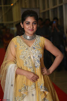 Nivetha Thamos in bright yellow dress at Ninnu Kori pre release function ~  Exclusive (13).JPG