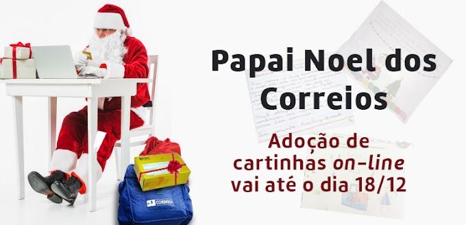 Campanha Papai Noel dos Correios vai até o dia 18 em Uberaba.