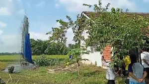 Semburan Lumpur Di Purwodadi Ditakutkan Seperti Kejadian Lapindo, Bupati Grobogan Lakukan Koordinasi Dengan Provinsi