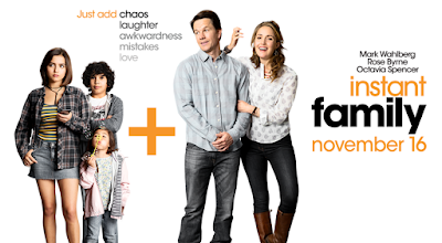 Instant Family, English Movie, English Movie 2018, Komedi, Lawak, Filem dan Drama Bulan Februari Hingga Mac 2018, Review By Miss Banu, Blog Miss Banu Story, Ulasan, My Opinion, Instant Family Cast, Pelakon Filem Instant Family, Mark Wahlberg, Rose Byrne, Isabela Moner, Gustavo Quiroz, Julianna Gamiz, Octavia Spencer, Tig Notaro, Poster Movie Instant Family,