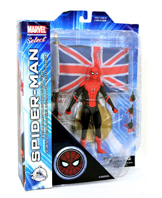 Diamond Select Disney Store Exclusive Spider-Man Far From Home Action Figure
