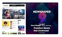 newspaper 9 blogger template