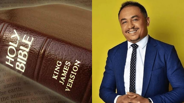 If you use King James version to define your faith, you'll worship demons – Daddy Freeze