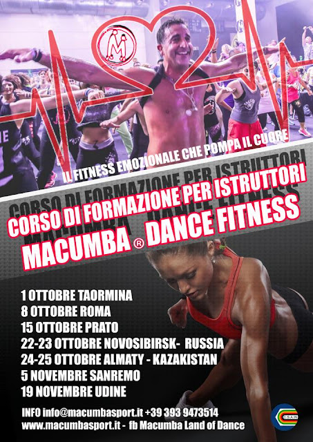 Corso di formazione per istruttori di Macumba Dance Fitness